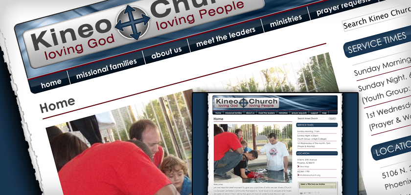 Kineo Church - Web