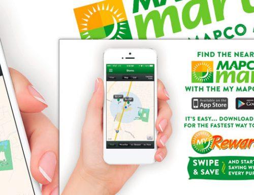 Mapco App Ad