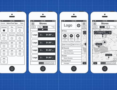 Mapco App Wireframes